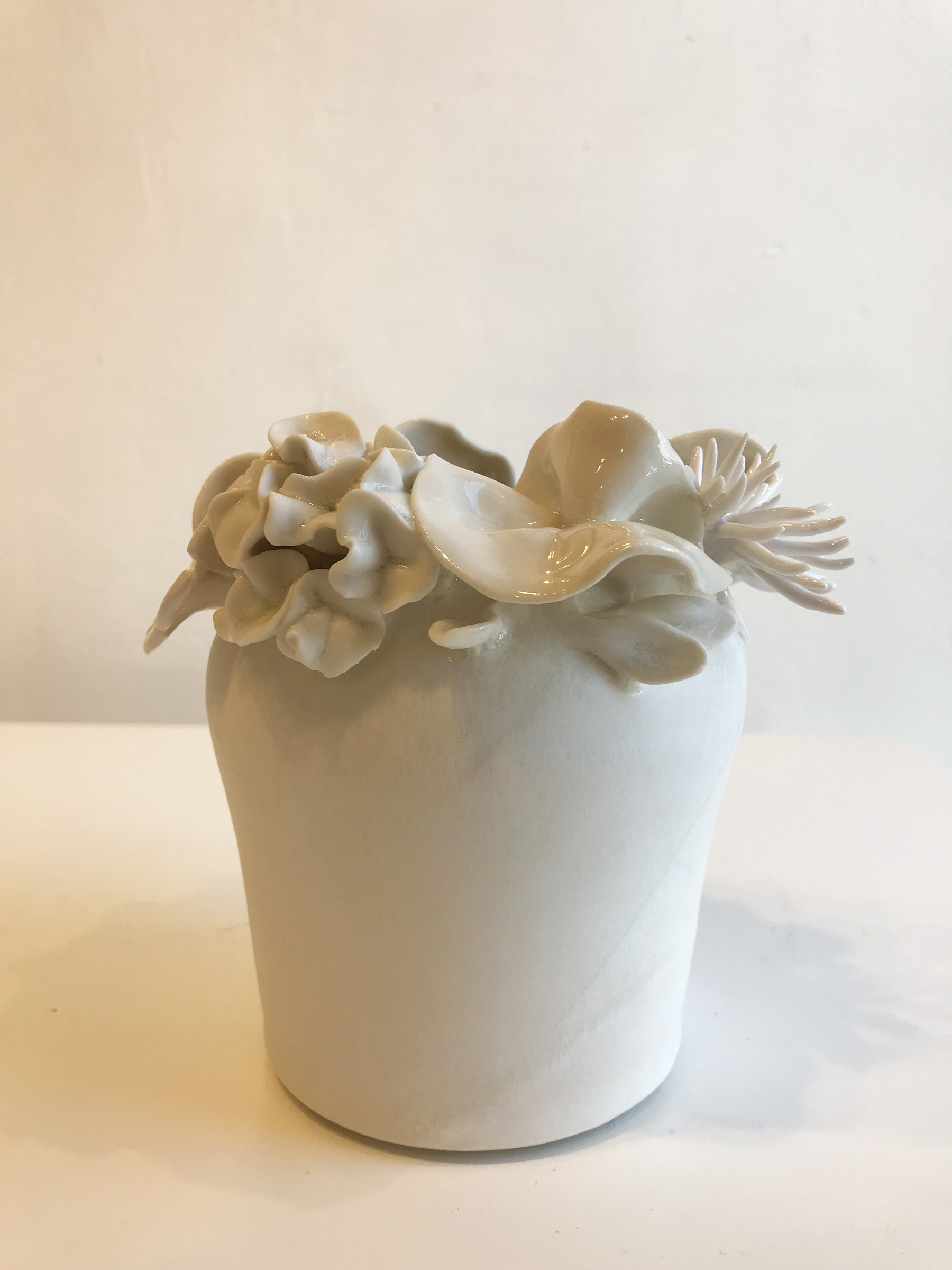 emma jagare small flower vase various flowers and coral sarah