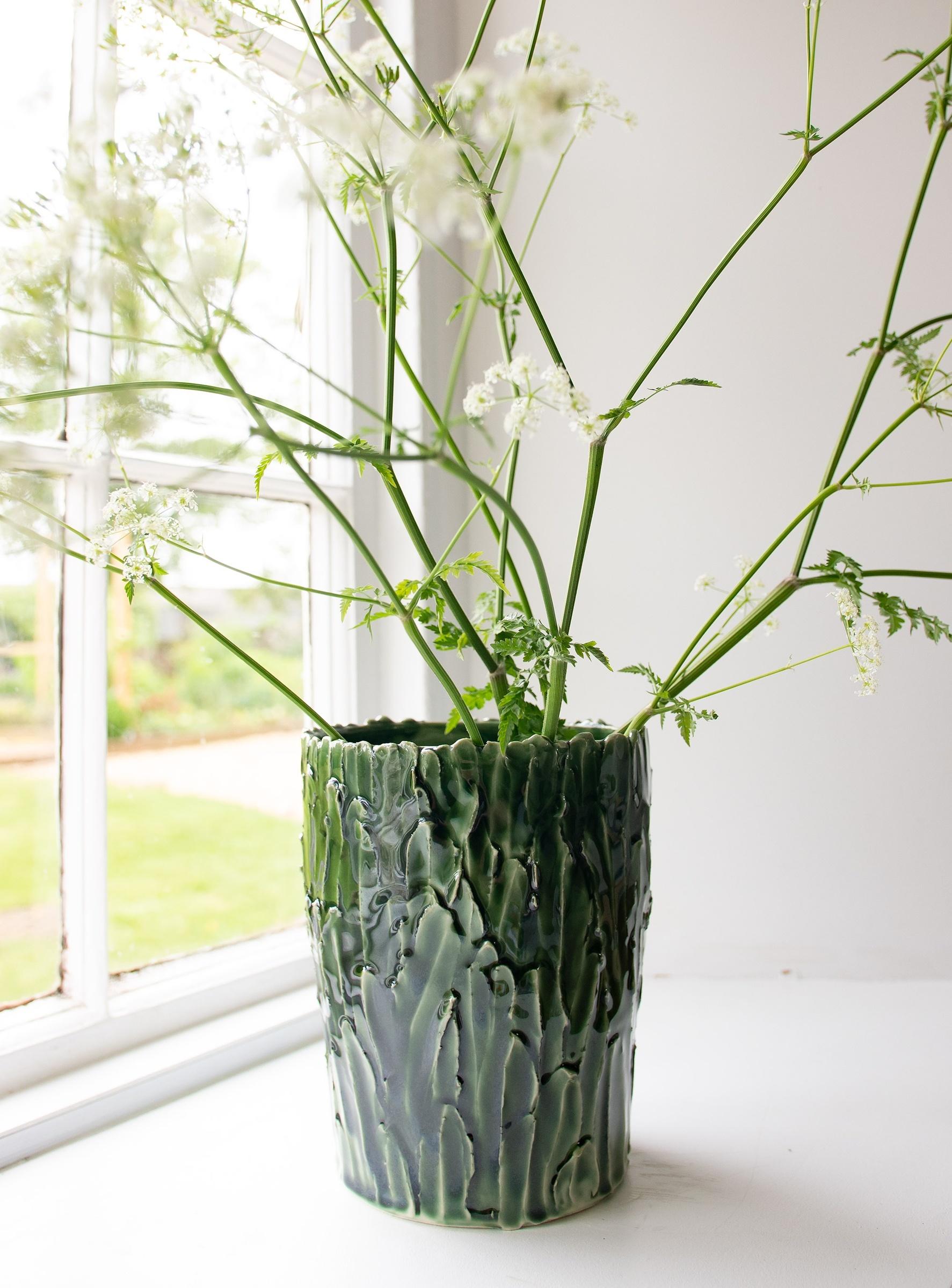 Emma Jagare, Large Green Vase, 2018