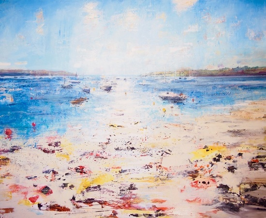 <p><strong>Peter Kettle</strong>, <em>Loe Beach, Cornwall</em></p>