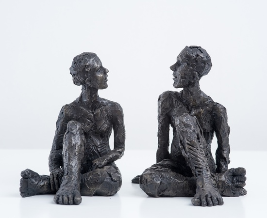 <span class=&#34;artist&#34;><strong>Carol Peace</strong></span>, <span class=&#34;title&#34;><em>Couple, Male and Female Figures 2</em></span>