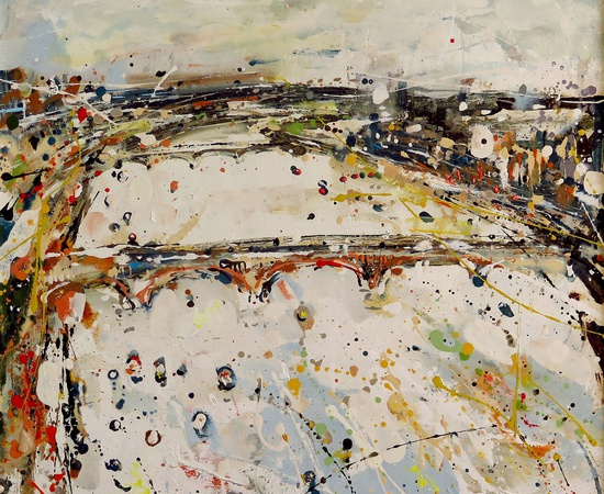 <span class=&#34;artist&#34;><strong>Andrew Hood</strong></span>, <span class=&#34;title&#34;><em>Bridge Across the Thames</em></span>