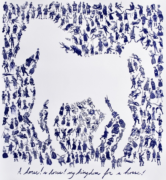 Mychael Barratt, A Horse! A Horse! My Kingdom for a Horse!, 2017