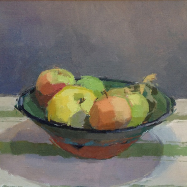 Sarah Spackman - Sheila's Apples, 2016