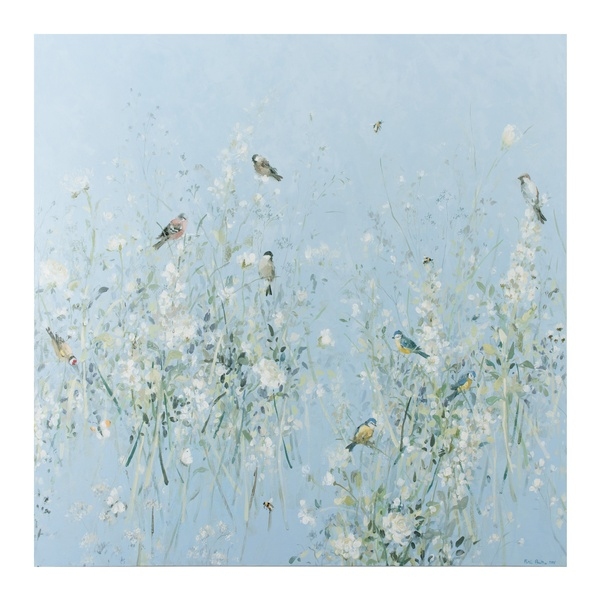 Fletcher Prentice - White Flowers and White Birds