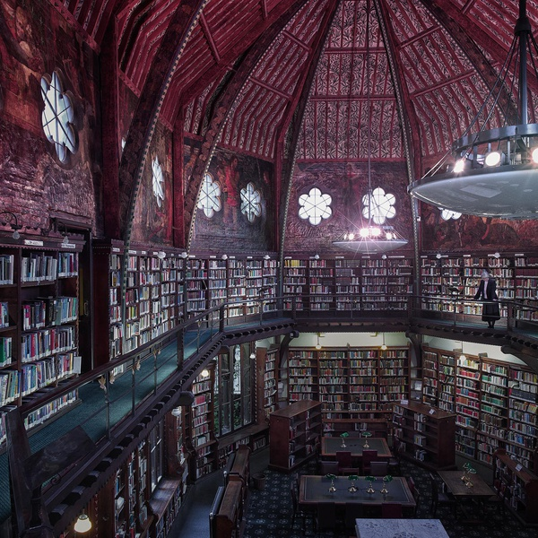 Joanna Vestey - Oxford Union Library